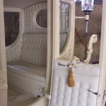 Semi-State Princess Wedding Carriage Interior